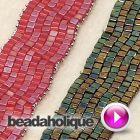 How to Decrease a Brick Stitch and Make a Bracelet | Beadaholique