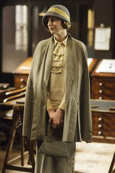 Downton Abbey, Season 6 [1925] costume designer Anna Mary Scott Robbins.