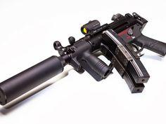 _Heckler & Koch MP5 K German 9mm Kurtz...Favorite anti-terrorist weapon when silence is a must.