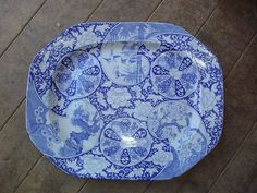 Antique Mason's Ironstone Large Platter