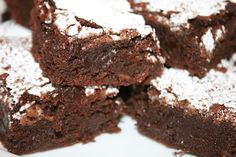 Fudgy, Chewy, Cakey Brownies!