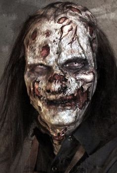 Los Angeles, CA – The undead will be high-fiving at their brain barbeques this weekend knowing that a Lite version of their favorite iPad app will be available to the shambling hordes for free. Zombie Art, Zombie Makeup, Fx Makeup, Doll Makeup, Horror Pictures, Creepy Pictures, Horror Pics, Evil Clowns, Scary Clowns