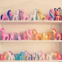 My Little Pony displayed