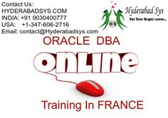 Oracle DBA Online Training In France #oracledbaonlinetraining #oracledbatraining