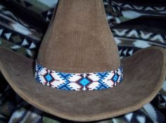 Hatband Native American Style,Copper Canyon Hat Band