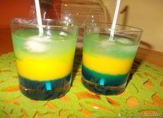 Drink Niebieska Wróżka - przepis ze Smaker.pl Blue Curacao, Mango Cream, Alcoholic Drinks, Beverages, Cream Liqueur, Irish Cream, Keto Diet For Beginners, Lemonade, Keto Recipes