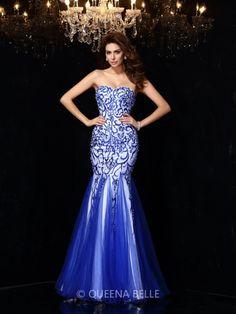 Sheath/Column Sleeveless Sweetheart Beading Net Floor-Length Dresses