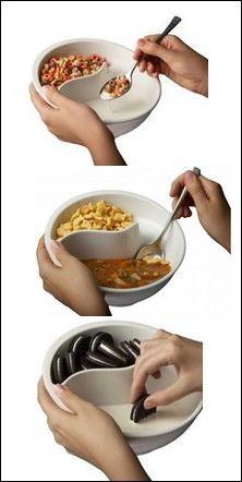 This is awesome! No more soggy cereal, cookies or soup crackers - I love this thing!