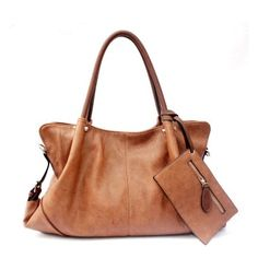 Fashion OL Style Simple Handbag & Shoulder Bag for only $38.90 ,cheap Fashion Handbags - Fashion Bags online shopping,Fashion Elegant Simple OL Style Handbag have zip placket along the top. A zippered patch pocket and two opening patch pocket in which you can store your cards, phone and some little things.