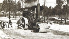 Old Steam Roller in action in Pinelands Rollers, Engine, Action, City, Pictures, Outdoor, Ideas, Photos, Group Action
