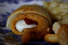 Pepperoni and Mozzarella Garlic Crescent Rolls by jasnicmommy, via Flickr