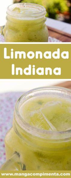 Receita de Limonada Indiana - uma deliciosa bebida com limão e abacate para os dias quentes! Indian Food Recipes, Diet Recipes, Good Food, Yummy Food, Dessert Dishes, Cocktail, Health Diet, Drinking Tea, Food And Drink