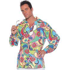 60s+Shirt+Halloween+Costume+for+Men+-+OrientalTrading.com  sc 1 st  Pinterest & Adult Male Hippie Costume | Men Costumes Ideas | Pinterest | Hippie ...