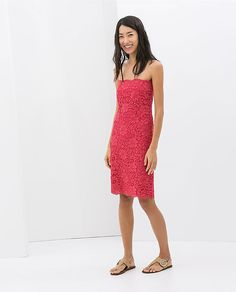 Zara Lace Dress ($90)
