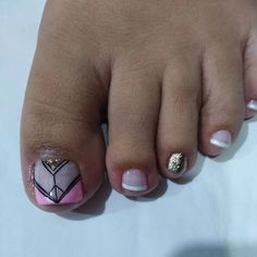 Cute Pedicure Designs, Nail Designs, Toe Nail Art, Toe Nails, Cute Pedicures, Nail File, Instagram, Beauty, Finger Nails