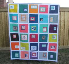 buttons quilts: Little Eye: A Finished Quilt