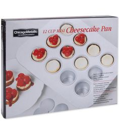 Chicago Metallic 12 Cup Mini Cheesecake Pan at Joann.com