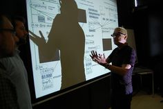 Interactivity and the stage Klaus Obermaier's workshop by mart_museum, via Flickr
