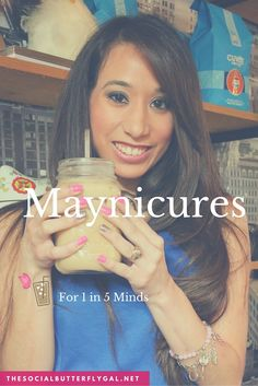 Wondering why I have a different color on my accent nail?My nails represent the 1 in 5 children who suffer from mental illness. Help us raise awareness with #Maynicures during the month of May: http://www.thesocialbutterflygal.net/2016/05/maynicures-1-5-minds/# #SATX #Bloggers #Fashion #Beauty #MentalHealth