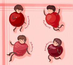 Beatles Berries by FG-Twins on deviantART
