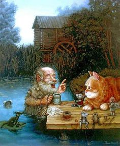 kot_de_azur: Сказочные котики Александра Маскаева