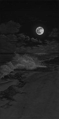 black wallpaper iphone light in the dark the art of Phillip Anthony