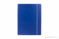 Filofax A5 Notebook - Blue, Lined (6.34 x 8.43)