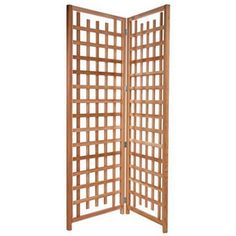 All Things Cedar 7 ft. Cedar Wood Privacy Screen Trellis
