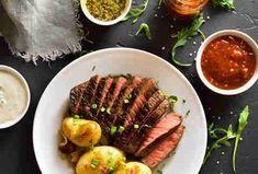 top sirloin Ways To Cook Steak, Cooking Brussel Sprouts, Steak Cuts, Medium Well, Juicy Steak, Strip Steak, Sirloin Steaks, Air Fryer Recipes, The Help