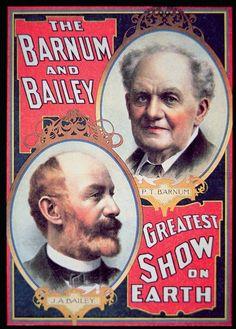 *BARNUM & BAILEY ~ Greatest Show on Earth...1880's