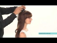 {Video} #HairHowTo Smooth and Volumize Hair with a Blow Dry #SmoothInfusion