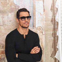 David Gandy Reunites with Dolce & Gabbana for Spring Eyewear Campaign David Gandy Style, David James Gandy, Kendall Jenner Style, Kendall And Kylie, Versace Men, Pharrell Williams, Gentleman Style, Italian Fashion, Perfect Man