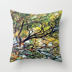 Nature Pillow Cover  FREE Shipping to USA throw by MarciaDeePrints, $35.00