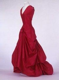 Balenciaga, 1954, musée de la Mode et du Textile