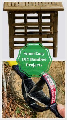 Amazing Bamboo Decoration Ideas #diybambooideas Bamboo House Design, Bamboo Crafts, Bamboo Decoration, Bamboo Ideas, Easy Diy, Amazing, Projects, Beautiful, Log Projects