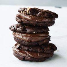 Our Best Chocolate Desserts | Triple-threat Chocolate Cookies  | MyRecipes.com