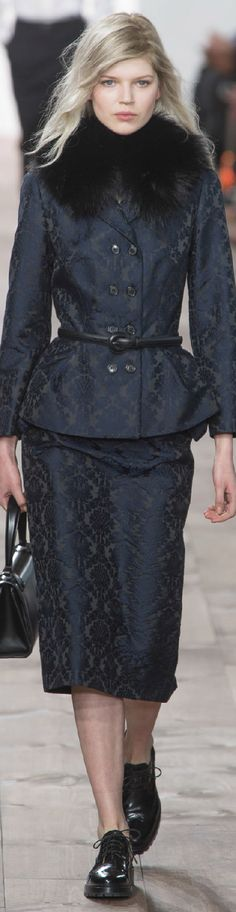 #Modest doesn't mean frumpy. www.ColleenHammond.com  Fall 2015 Ready-to-Wear Michael Kors
