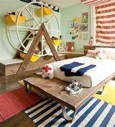Cute idea for a kid's bedroom #kids #bedroom #nautica #ferriswheel #storage #organization #boy