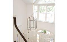 M. Frederick Interiors - Far Hills Foyer Light