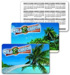 Lenticular calendar card with palm tree on tropical Hawaiian beach, flip from Lantor, Ltd. Linticular Printing: This 2.125 x 3.375 inch calendar card CA01-256 makes a great tropical-themed promotional product. The calendar card's face features a flip effect between two different photographs of a tropical beach. This light and practical product creates the maximum impact. See more at: http://www.lenticularpromo.com/Calendar-Card-p/ca01-256.htm#sthash.qK6tEduU.dpuf