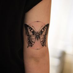 Butterfly tattoo by XavTattoo