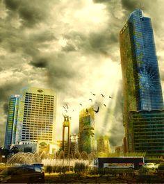 Jakarta city of dream by ~muzz123 on deviantART