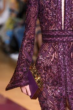 Zuhair Murad at Couture Fall 2016 - Details Runway Photos Haute Couture Style, Couture Mode, Couture Details, Fashion Details, Couture Fashion, Runway Fashion, Womens Fashion, Fashion Design, Fashion Week