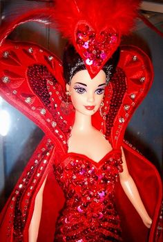 Bob Mackie's Queen of Hearts doll