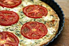 tomato and goat cheese tart by georgette