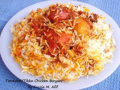 Tandoori/Tikka Chicken Biryani | Fauzias Kitchen Fun