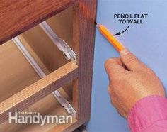 Fit woodwork perfectly to even the waviest walls with an inexpensive compass.