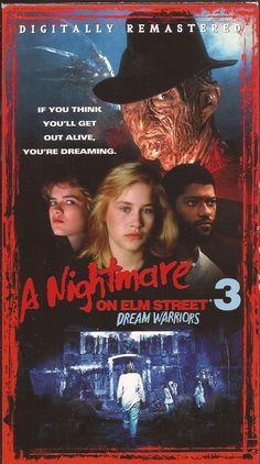 A Nightmare On Elm Street VHS Box Set