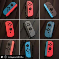 Which one is your fav ? Credit @crazydopetastic  #JoyCon #NintendoSwitch #controller #nintendo