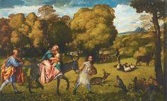 Titian: The Flight into Egypt, circa 1506–1507
